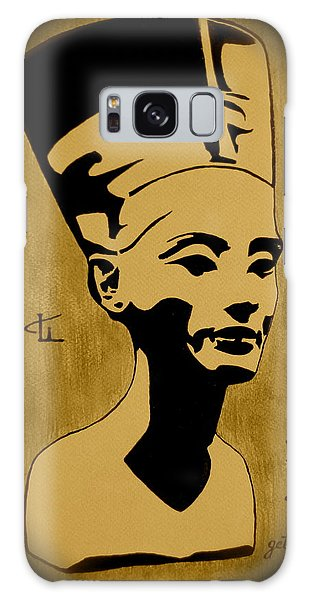 Nefertiti Egyptian Queen Galaxy Case