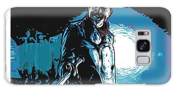 Galaxy Case featuring the digital art Negan by Antonio Romero
