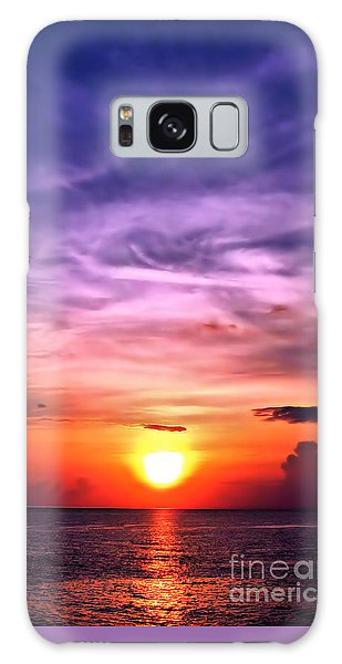 Negril Sunset Galaxy Case