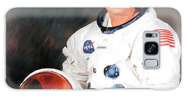 Neil Armstrong Galaxy Case