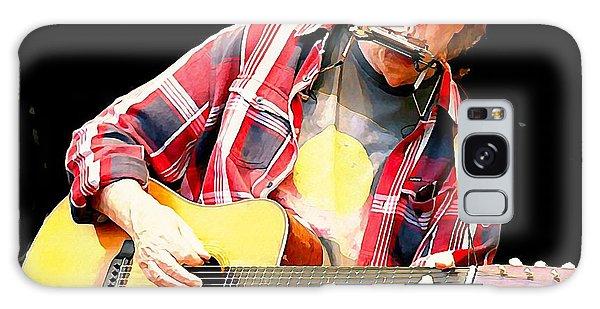 Neil Young Galaxy Case by John Malone