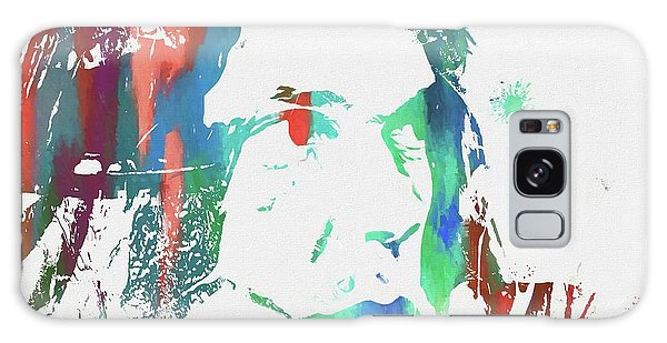 Neil Young Paint Splatter Galaxy Case
