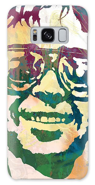 Neil Young Pop Stylised Art Poster Galaxy Case