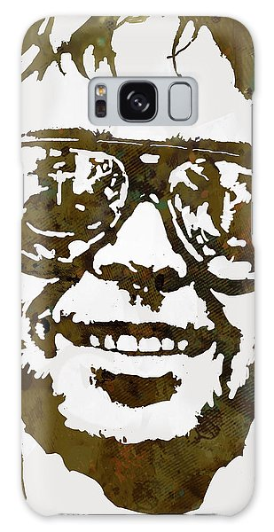 Neil Young Pop  Stylised Art Sketch Poster Galaxy Case