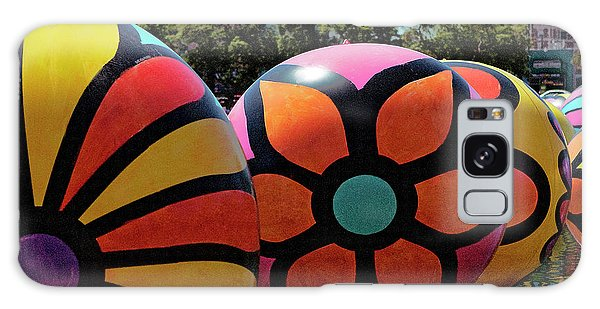Galaxy Case featuring the photograph Neon Balls Of Macarthur Park by Lorraine Devon Wilke
