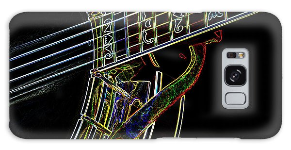 Neon Banjo  Galaxy Case by Wilma Birdwell
