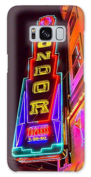 Condor Galaxy S8 Case - Neon Condor San Francisco by Garry Gay