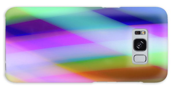 Neon Crossing Galaxy Case