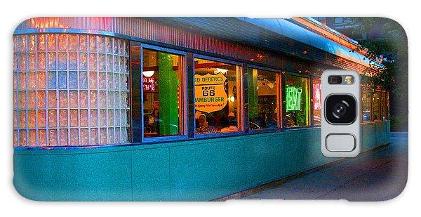 Neon Diner Galaxy Case