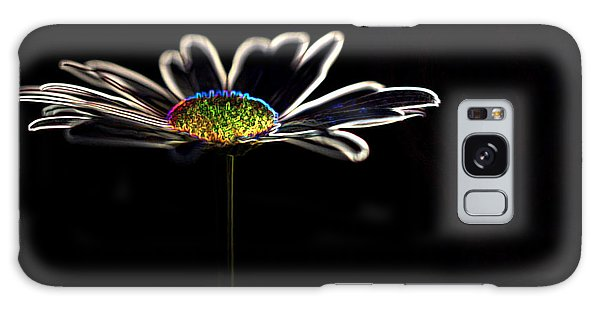 Neon Flower Galaxy Case