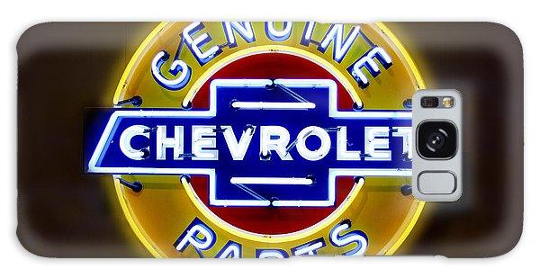 Neon Genuine Chevrolet Parts Sign Galaxy Case