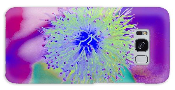Neon Green Puff Explosion Galaxy Case
