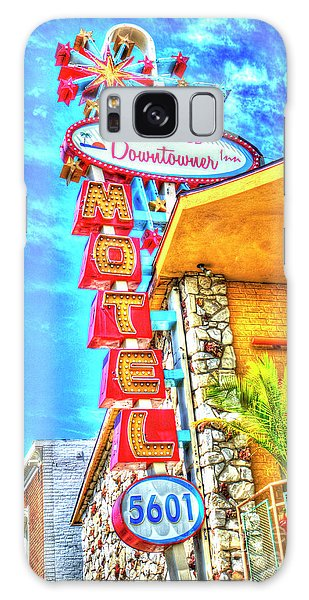 Neon Motel Sign Galaxy Case