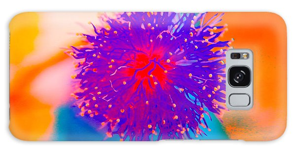 Neon Pink Puff Explosion Galaxy Case
