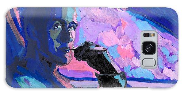 Gosling Galaxy Case - Neon Ryan Gosling by Maria Karpova