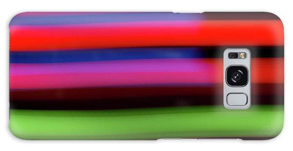 Neon Stripe Galaxy Case