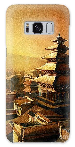 Nepal Temple Galaxy Case