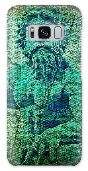 Patina Galaxy Case - Neptune In Patina by Absinthe Art By Michelle LeAnn Scott
