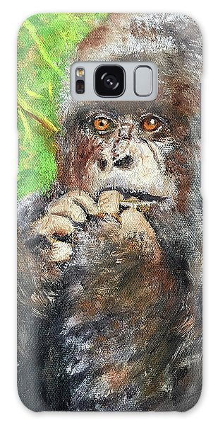 Nervous Mama Gorilla Galaxy Case