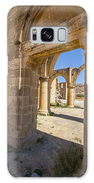 Galaxy Case - Nested Windowed View Of Church Ruins by Iordanis Pallikaras