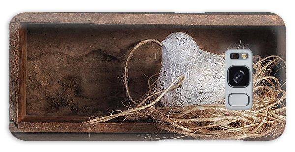 Framing Galaxy Case - Nesting Bird Still Life II by Tom Mc Nemar