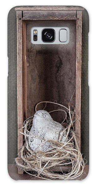 Framing Galaxy Case - Nesting Bird Still Life by Tom Mc Nemar