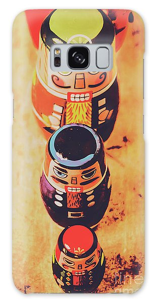 Moustache Galaxy Case - Nesting Dolls by Jorgo Photography - Wall Art Gallery