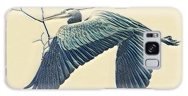 Nesting Heron Galaxy Case