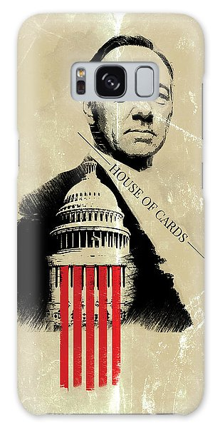 Netflix House Of Cards Frank Underwood Portrait  Galaxy Case