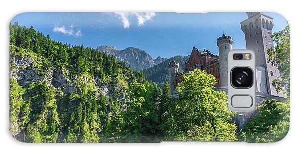 Galaxy Case featuring the photograph Neuschwanstein Castle by David Morefield