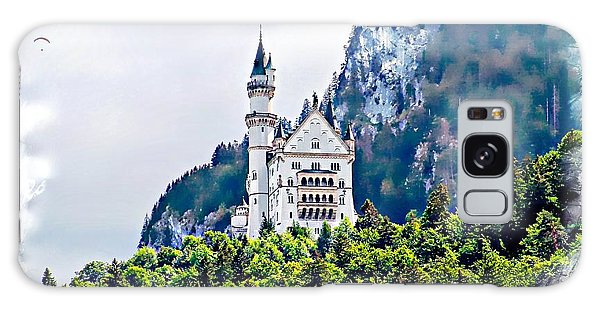 Neuschwanstein Castle With A Glider Galaxy Case