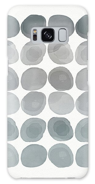 Neutral Stones- Art By Linda Woods Galaxy Case by Linda Woods