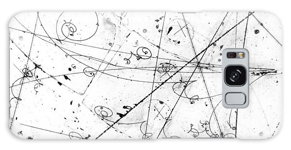 Neutrino Particle Interaction Event Galaxy Case