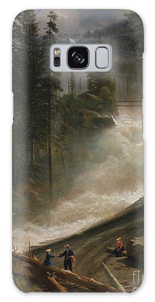Nevada Falls Yosemite                                Galaxy Case by John Stephens