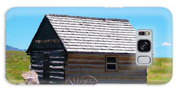 Nevada Log Cabin Galaxy Case