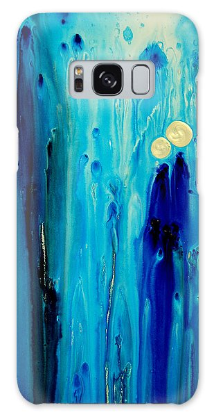 Spirituality Galaxy Case - Never Alone by Sharon Cummings