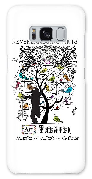 Neverlands Inc. Arts Poster Galaxy Case