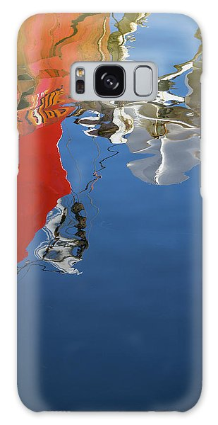 Galaxy Case featuring the photograph New Bedford Waterfront Xxviii Color by David Gordon
