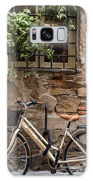 New Bike In Old Lucca Galaxy Case