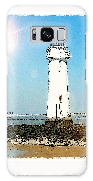 New Brighton Lighthouse Galaxy Case