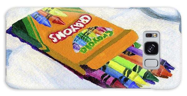 New Crayons Galaxy Case