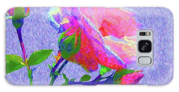 New Dawn Painterly Galaxy Case by Susan Lafleur