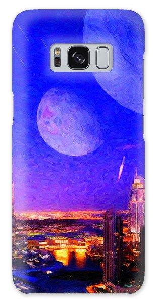 New Dubai On Tau Ceti E Galaxy Case by Chuck Mountain