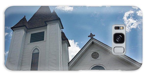 New England Church Galaxy Case by Suzanne Gaff