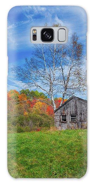 New England Fall Foliage Galaxy Case