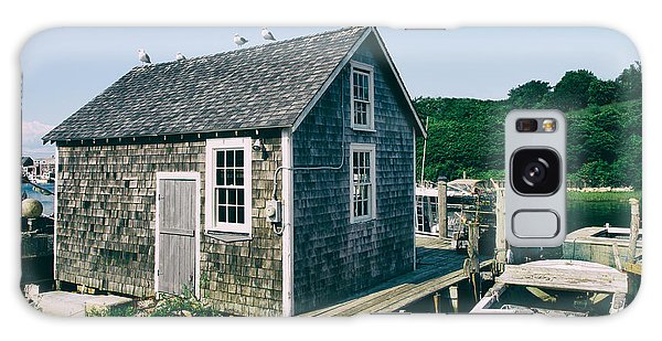 New England Fishing Cabin Galaxy Case by Mark Miller
