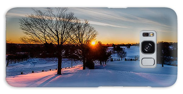 New England Sunrise Galaxy Case