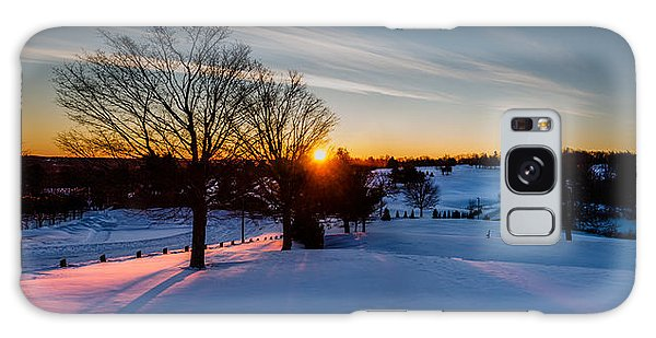 New England Sunrise Galaxy Case