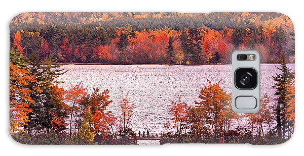 New Hampshire Fall Galaxy Case