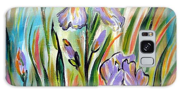 New Irises Galaxy Case